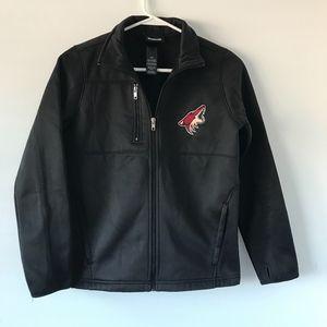 Reebok Black Arizona Coyotes Jacket #2
